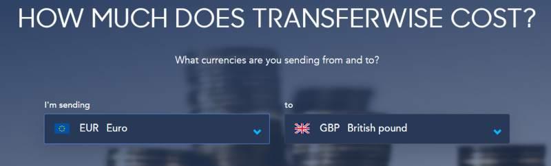 transferwise poplatek poplatky výše