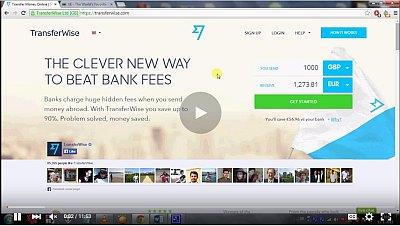 posílaní peněz z austrálie videonávod